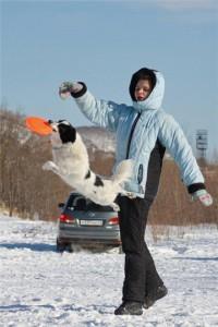 Семинар по фризби и фризби фристайлу с Екатериной Лемасовой в Пушкине (СПб)