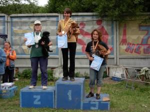 Победители соревнований по аджилити